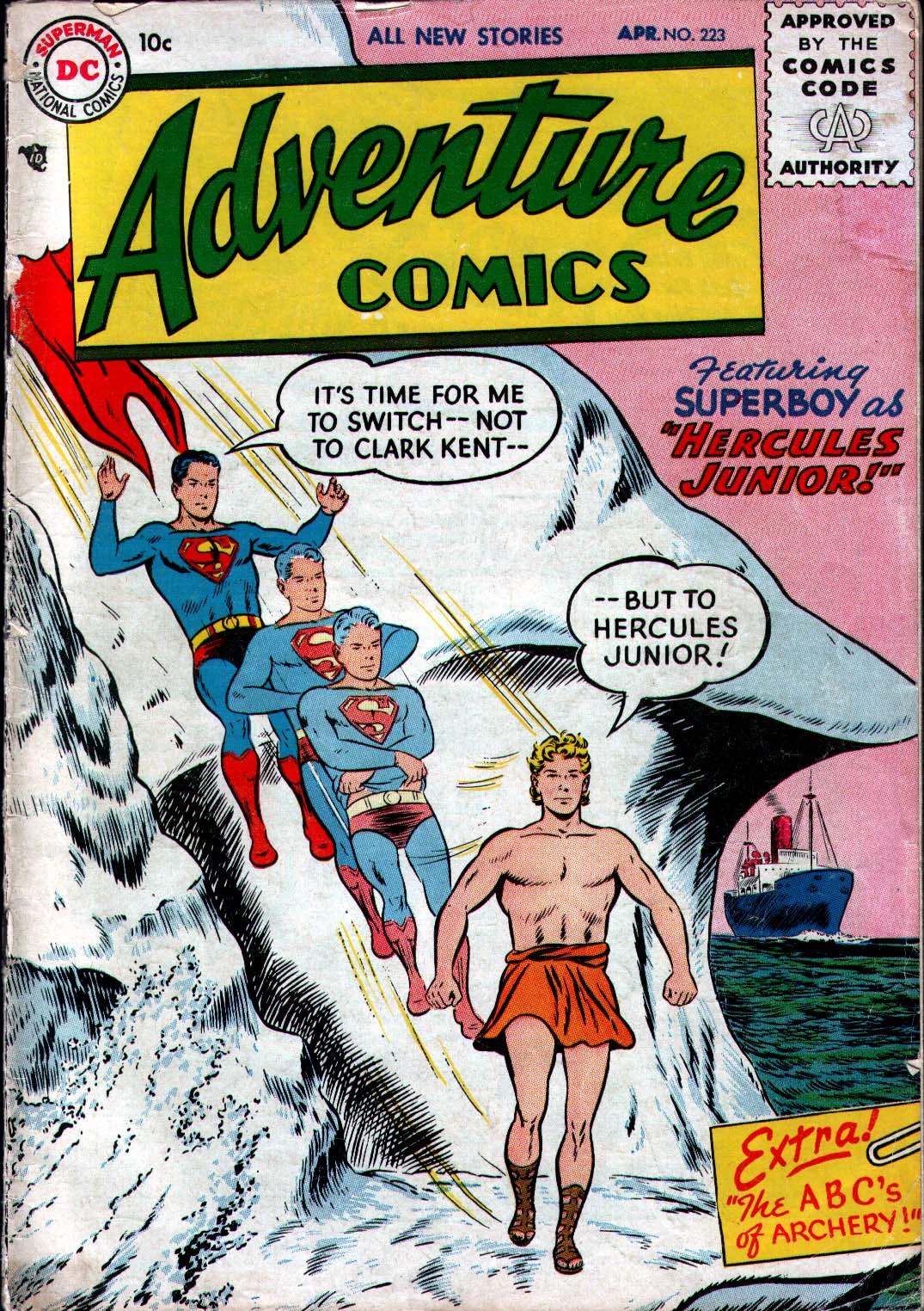 Read online Adventure Comics (1938) comic -  Issue #223 - 1