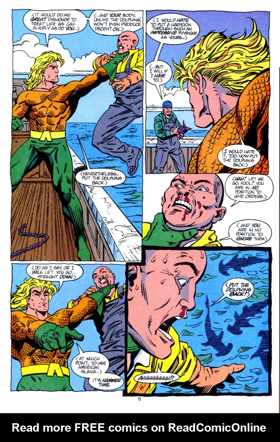 Read online Aquaman: Time and Tide comic -  Issue #2 - 7