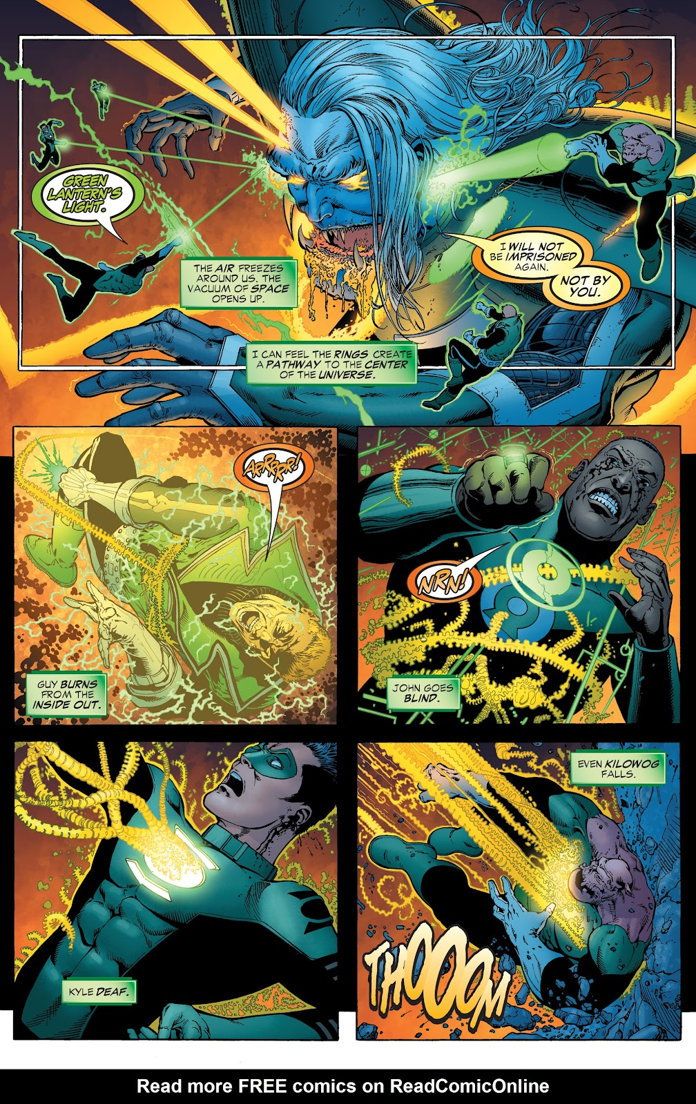 Read online Green Lantern by Geoff Johns comic -  Issue # TPB 1 (Part 2) - 43