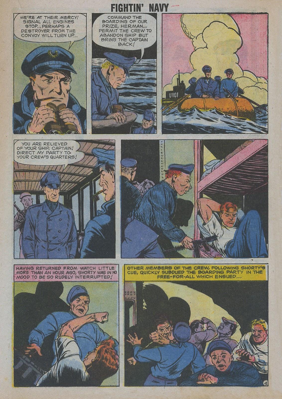Read online Fightin' Navy comic -  Issue #82 - 25