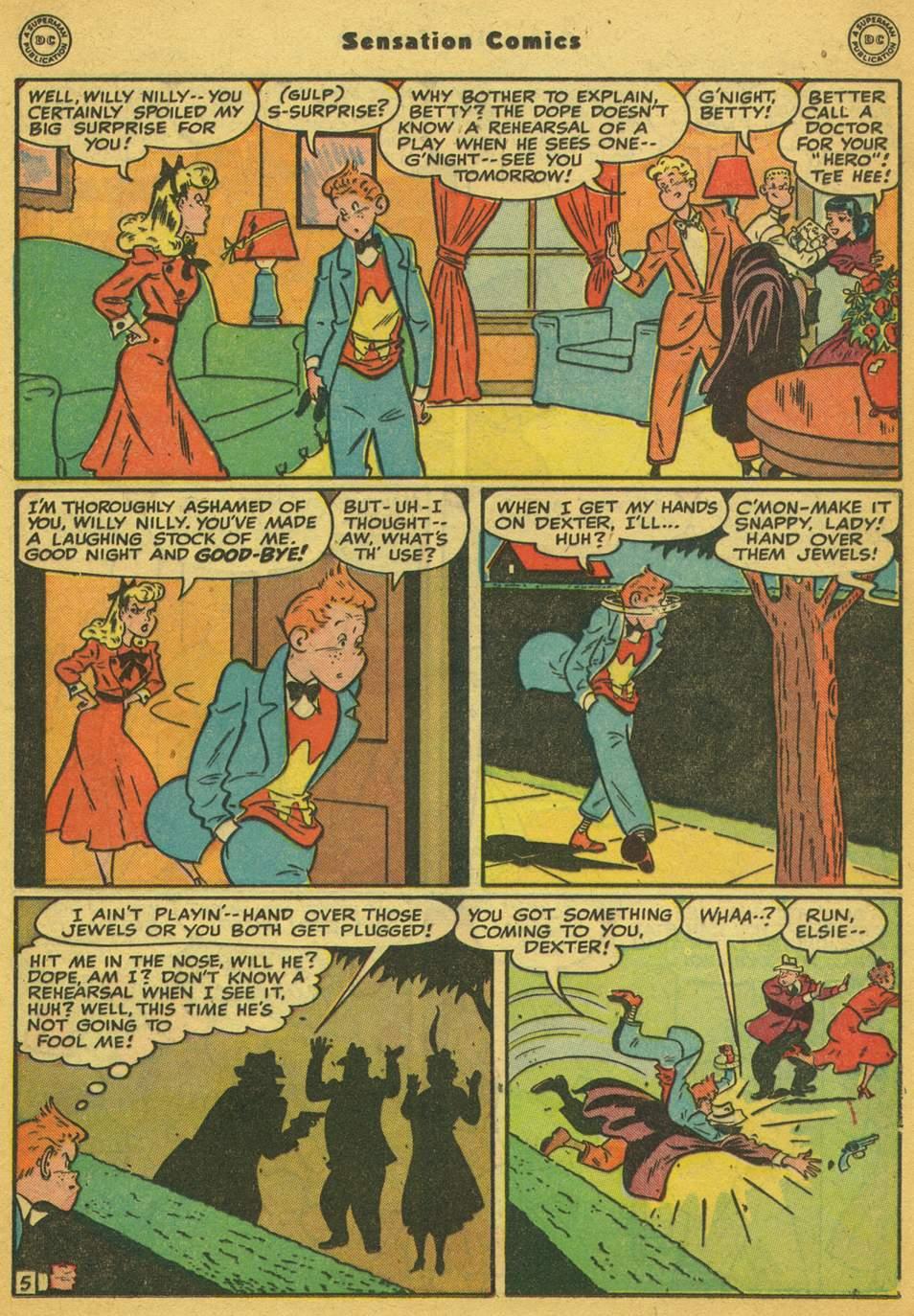 Read online Sensation (Mystery) Comics comic -  Issue #80 - 36