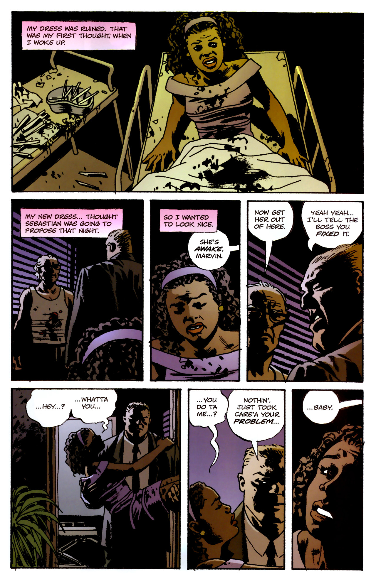 Read online Criminal (2008) comic -  Issue #3 - 10