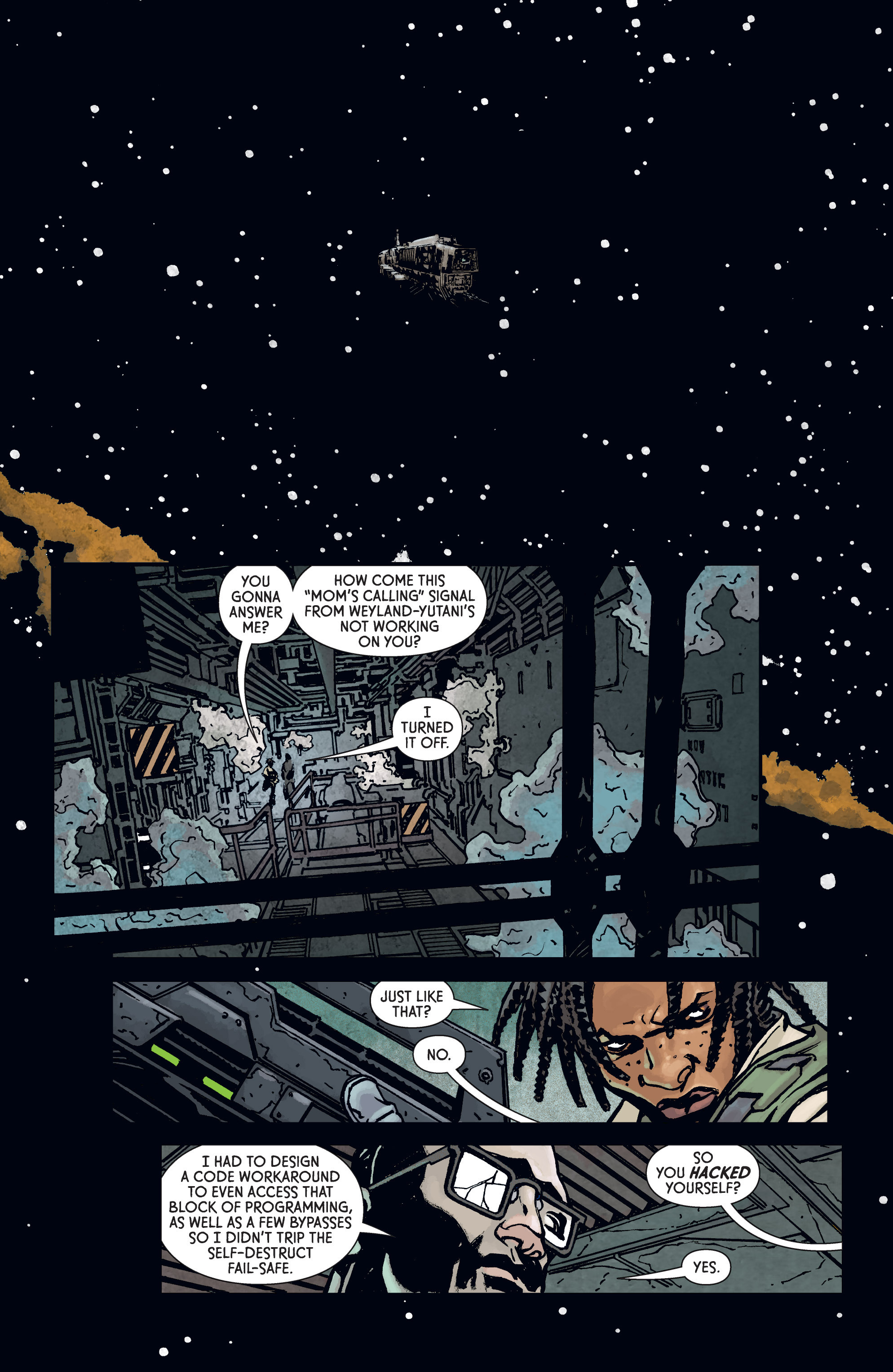 Read online Aliens: Defiance comic -  Issue #3 - 14