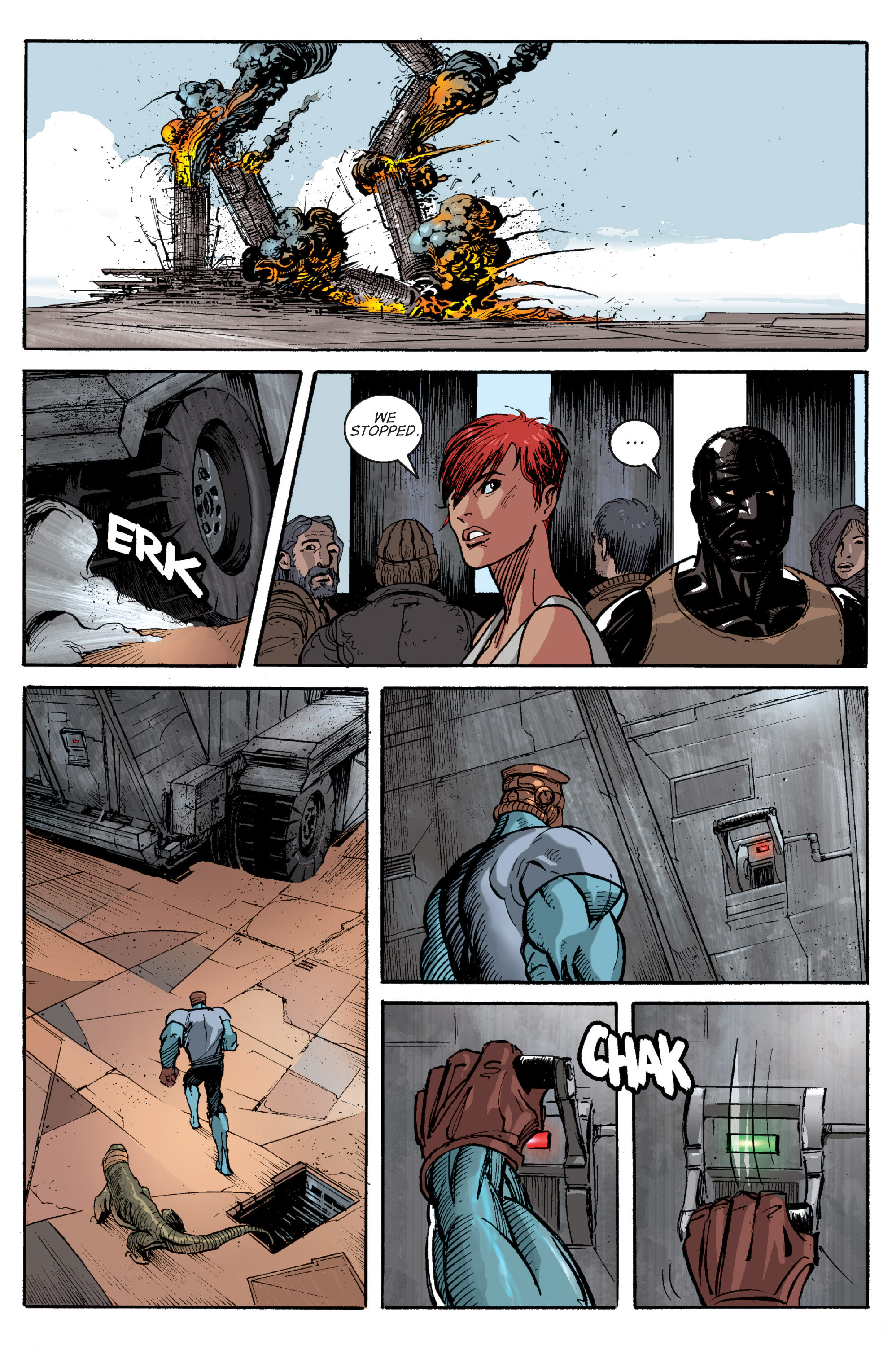 Read online Planetoid comic -  Issue # TPB - 159