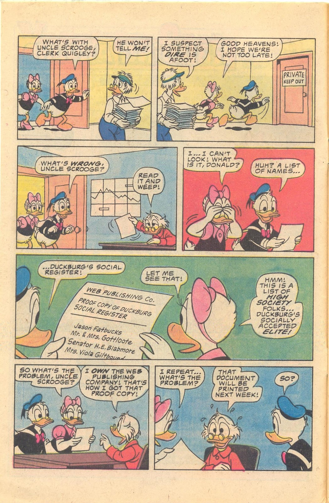 Read online Walt Disney Daisy and Donald comic -  Issue #47 - 4