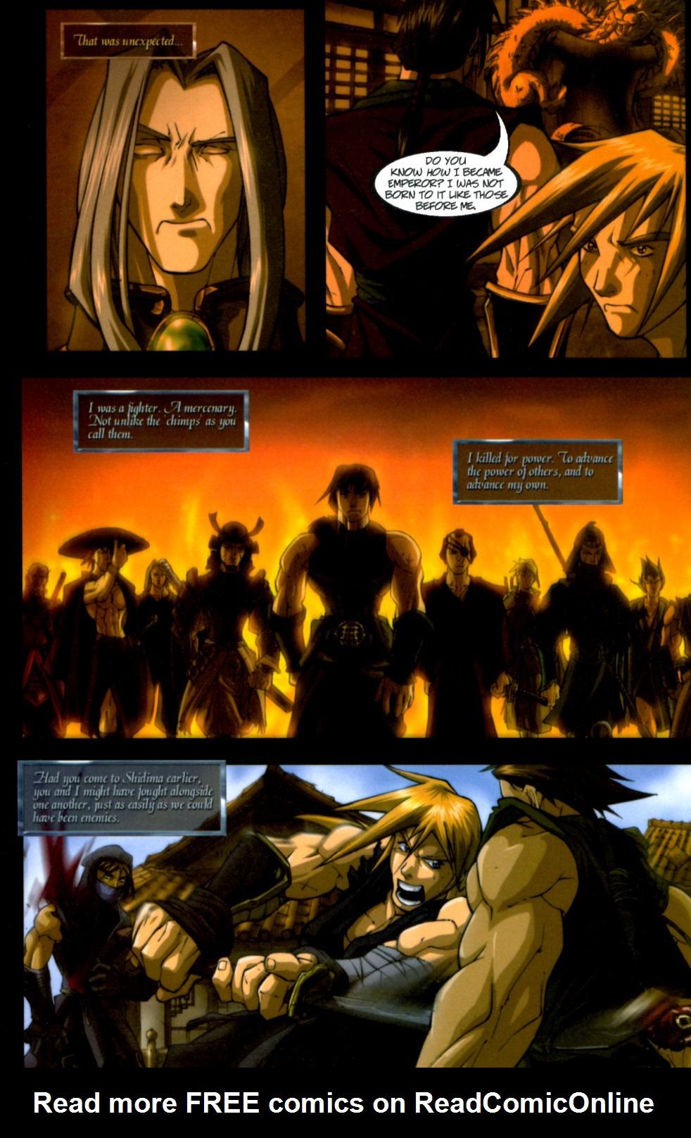 Read online Shidima comic -  Issue #4 - 11