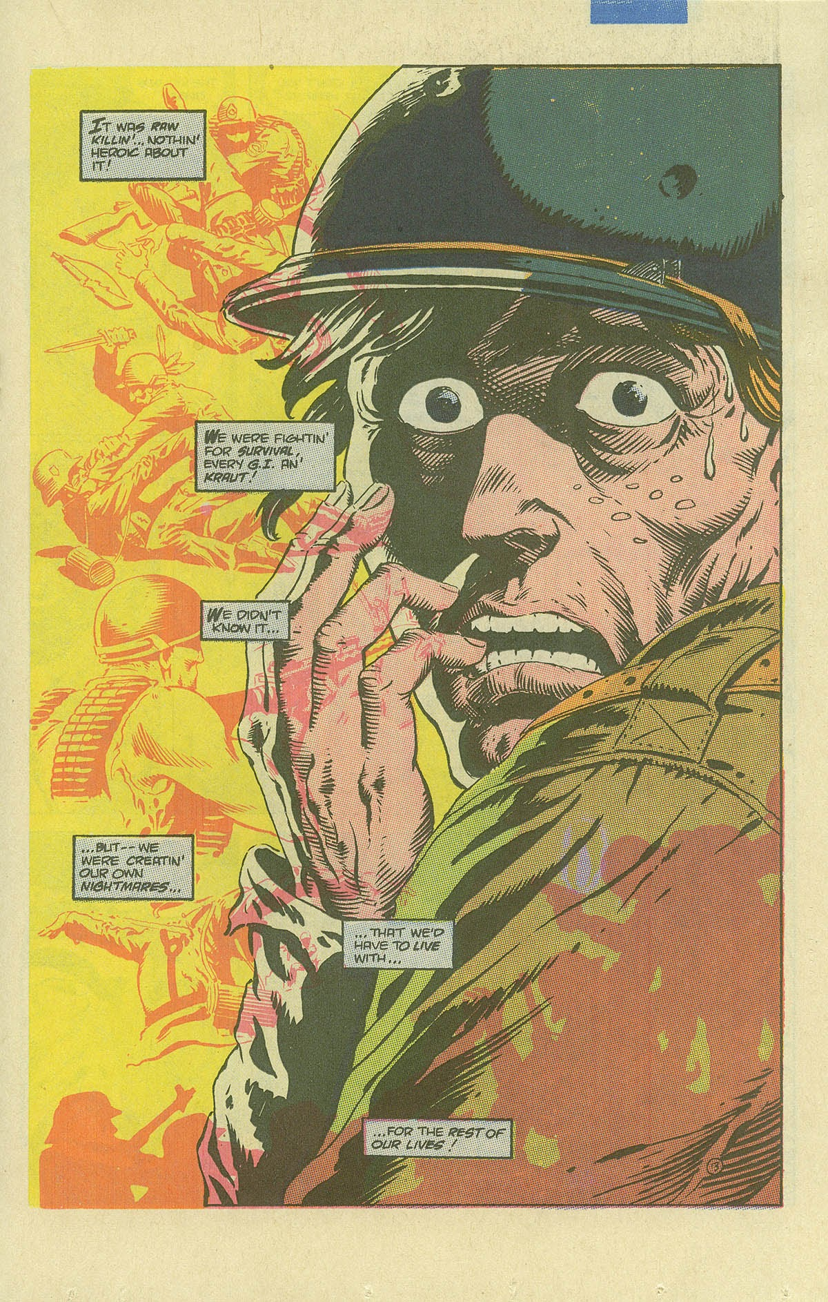Read online Sgt. Rock comic -  Issue #408 - 18