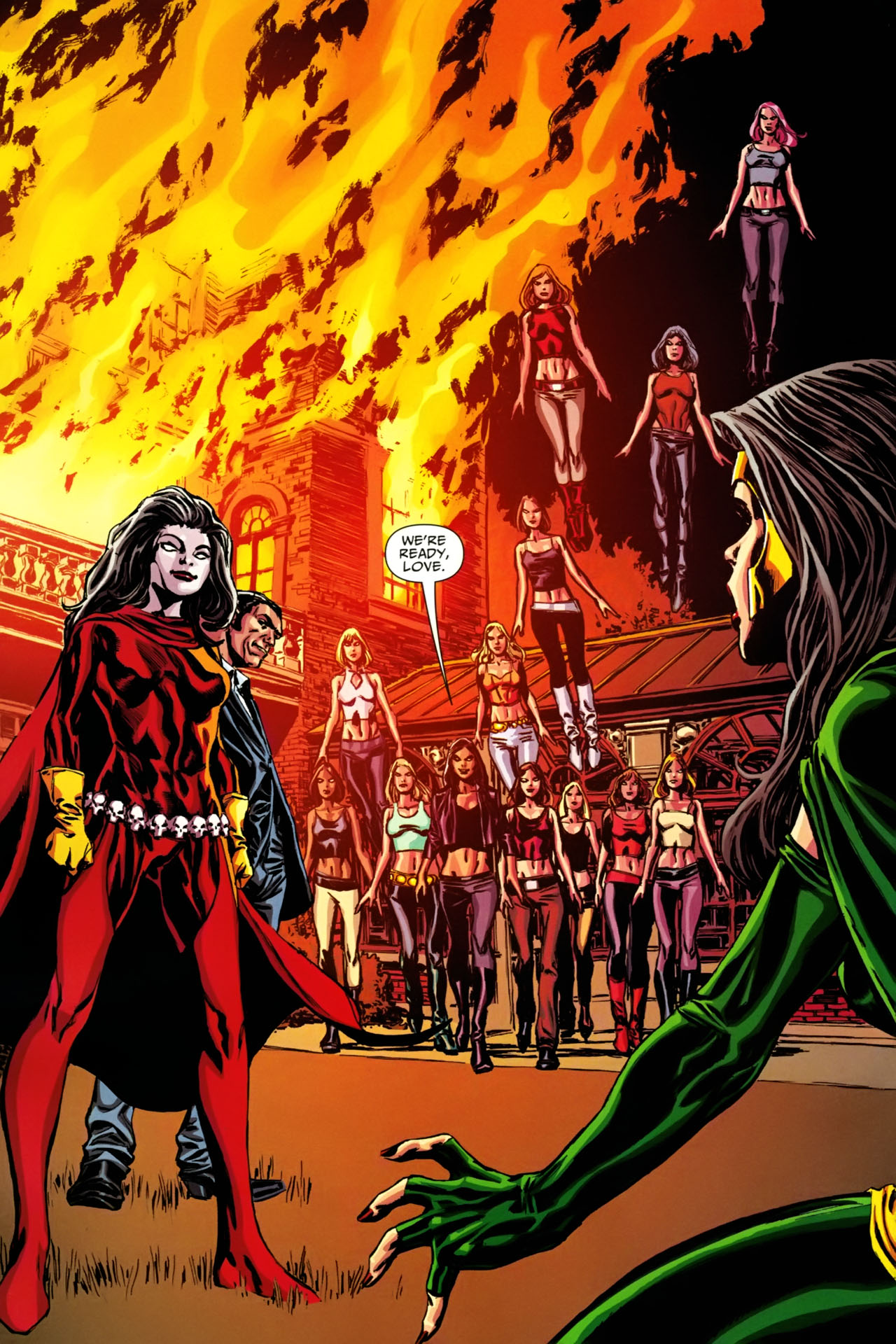 Read online Shadowpact comic -  Issue #19 - 16
