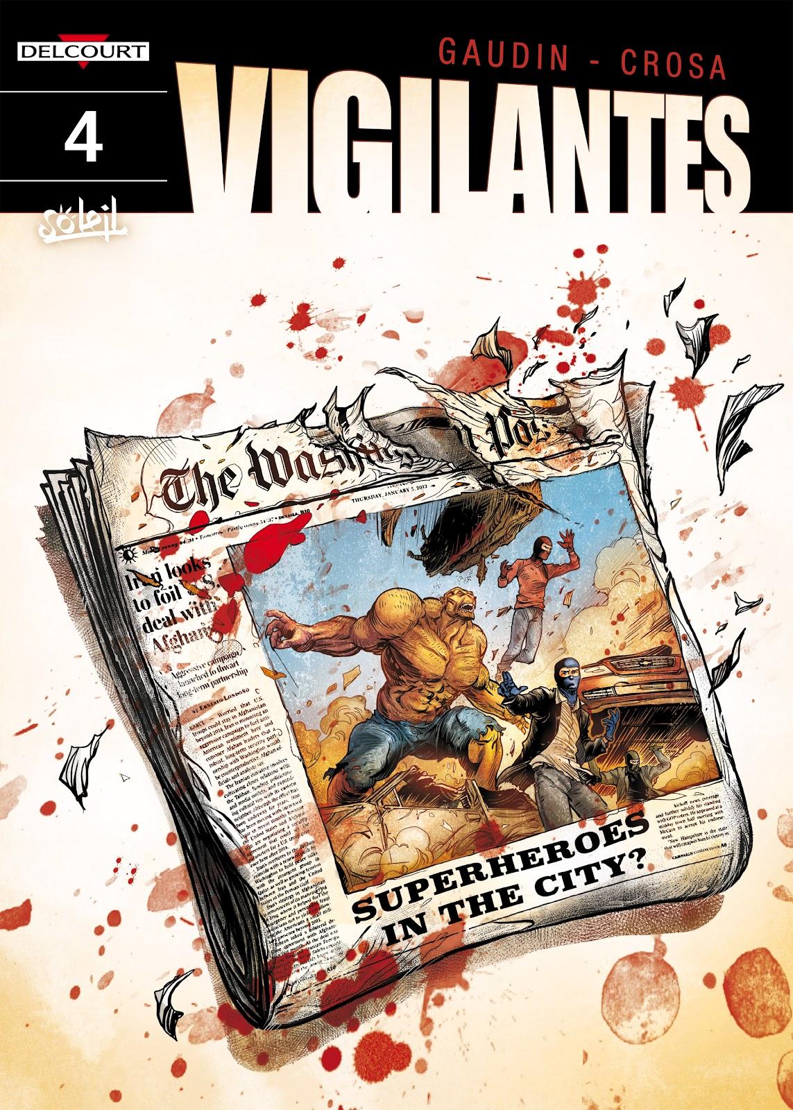 Read online Vigilantes comic -  Issue #4 - 1