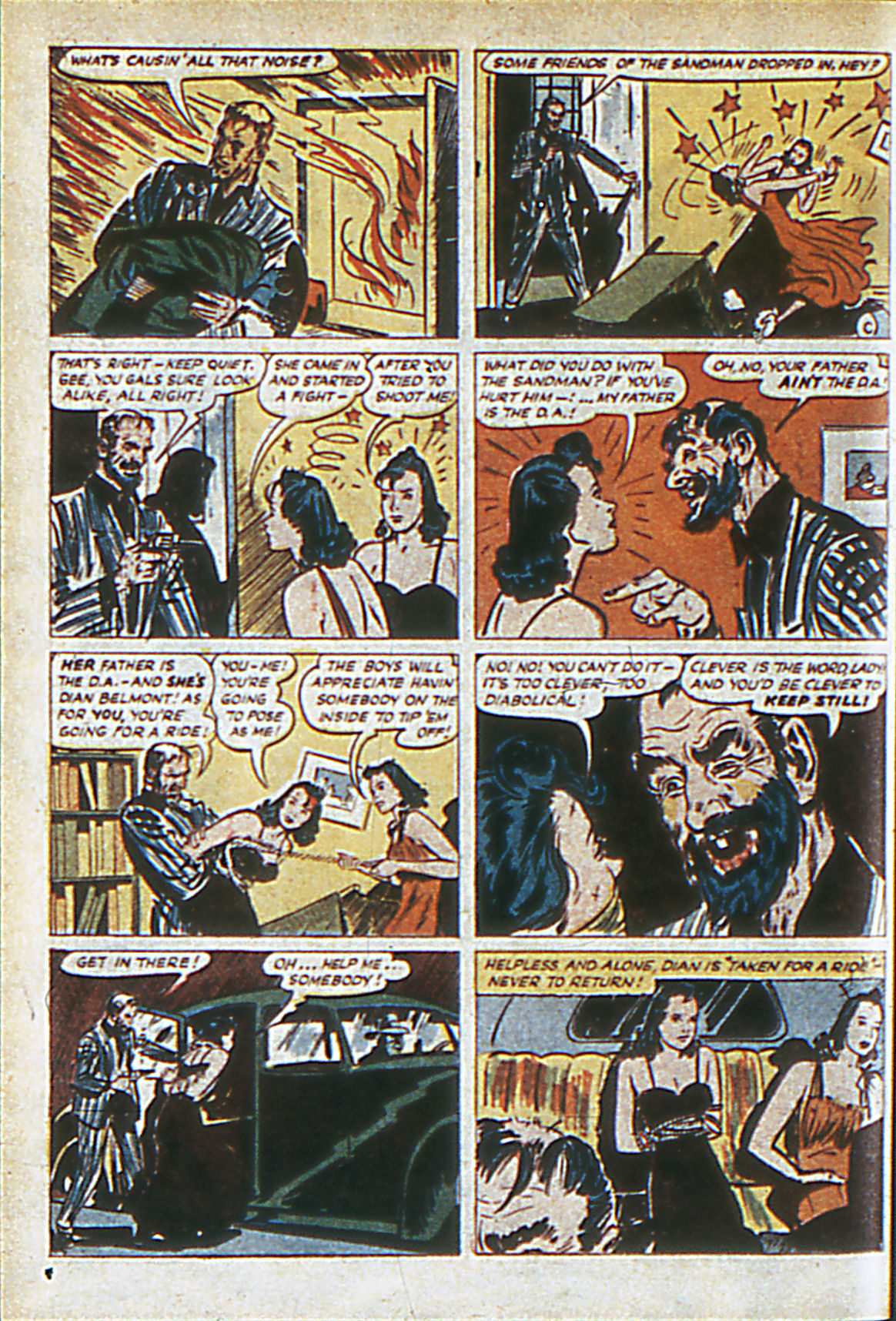 Read online Adventure Comics (1938) comic -  Issue #60 - 63