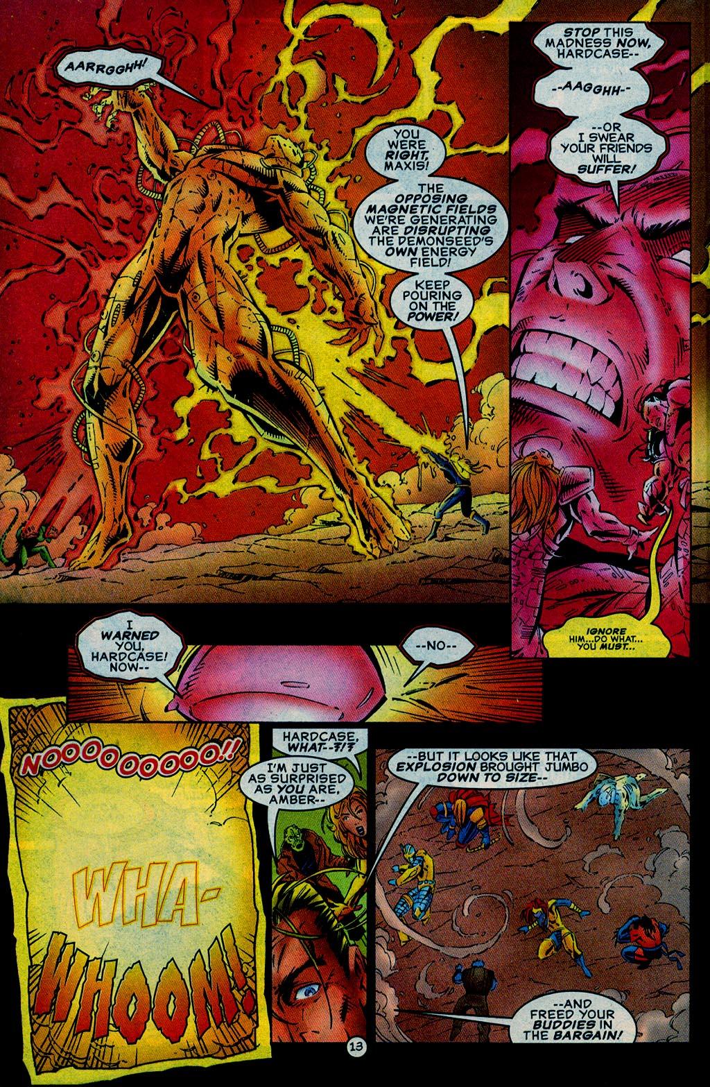 Read online UltraForce (1995) comic -  Issue #15 - 14