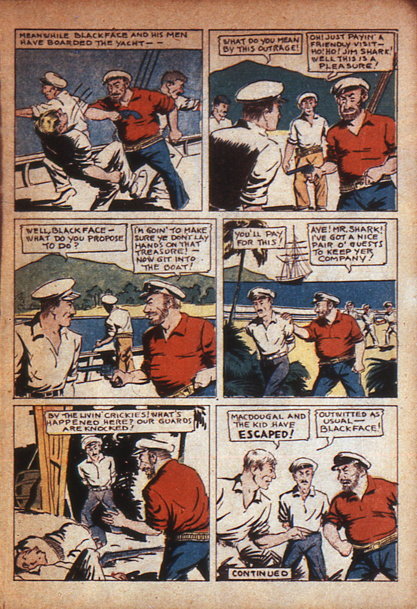 Read online Adventure Comics (1938) comic -  Issue #7 - 10
