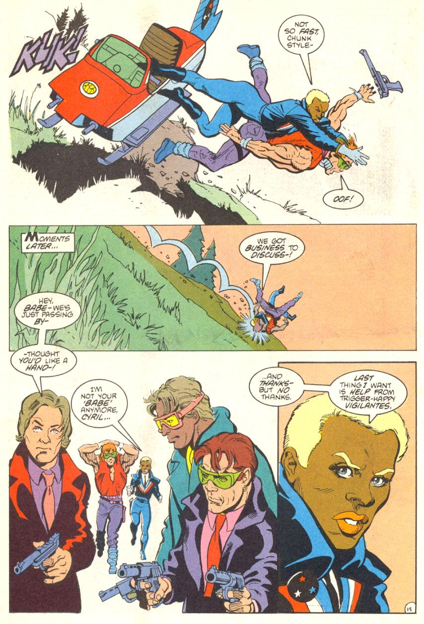 Read online American Flagg! comic -  Issue #13 - 15