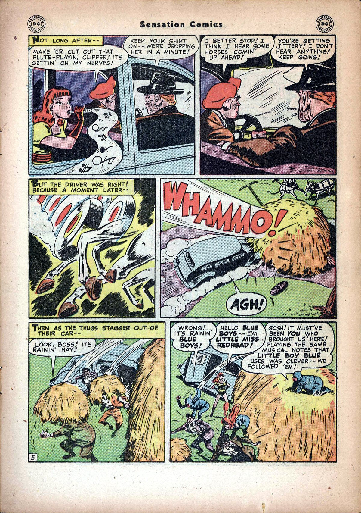 Read online Sensation (Mystery) Comics comic -  Issue #72 - 21