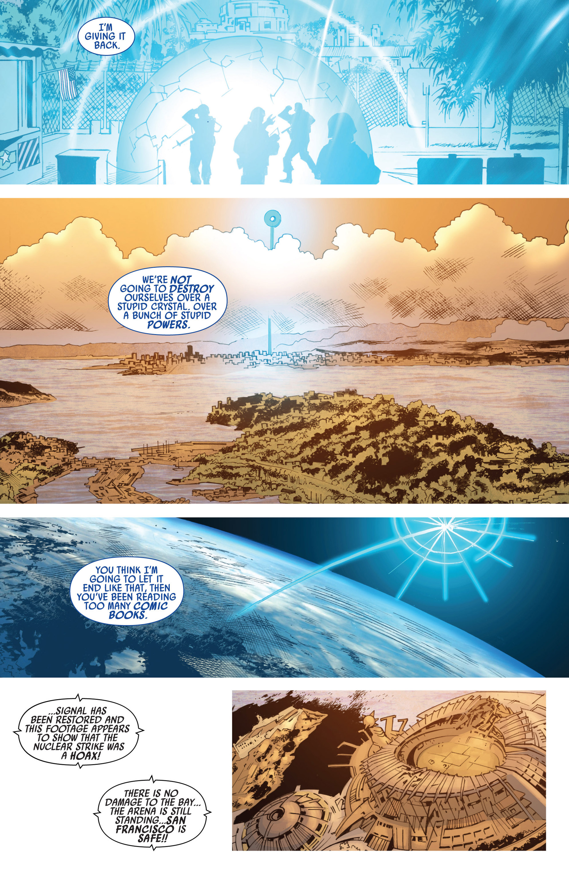 Read online America's Got Powers comic -  Issue #7 - 22
