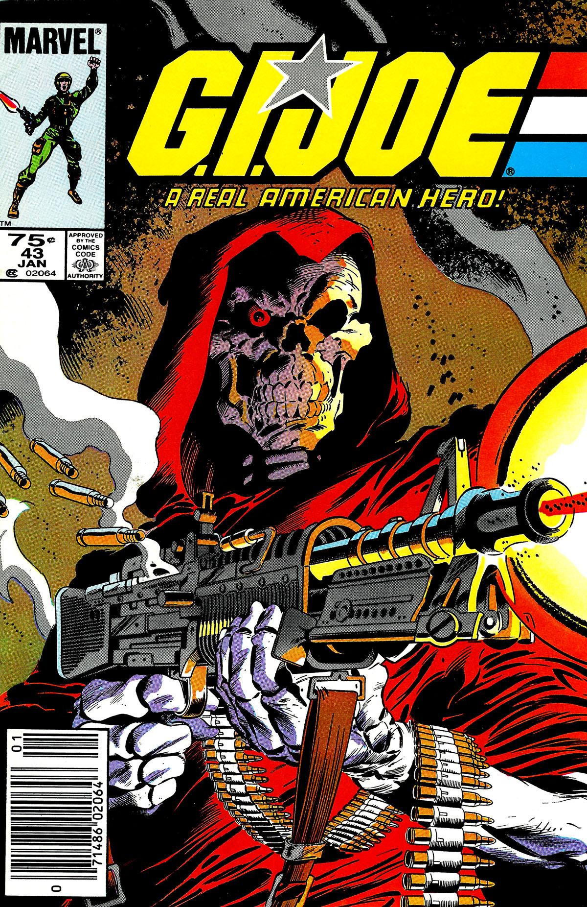 G.I. Joe: A Real American Hero 43 Page 1