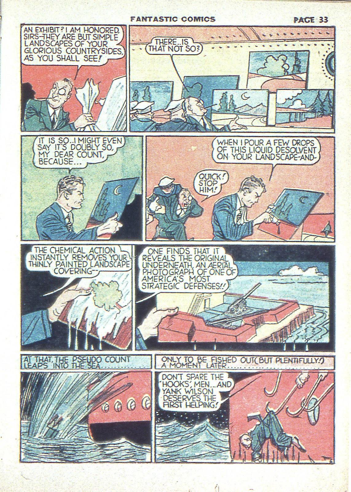 Read online Fantastic Comics comic -  Issue #3 - 36