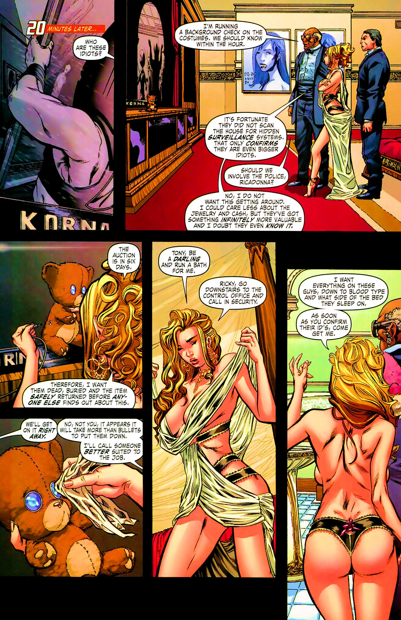 Read online Daughters of the Dragon comic -  Issue #1 - 16
