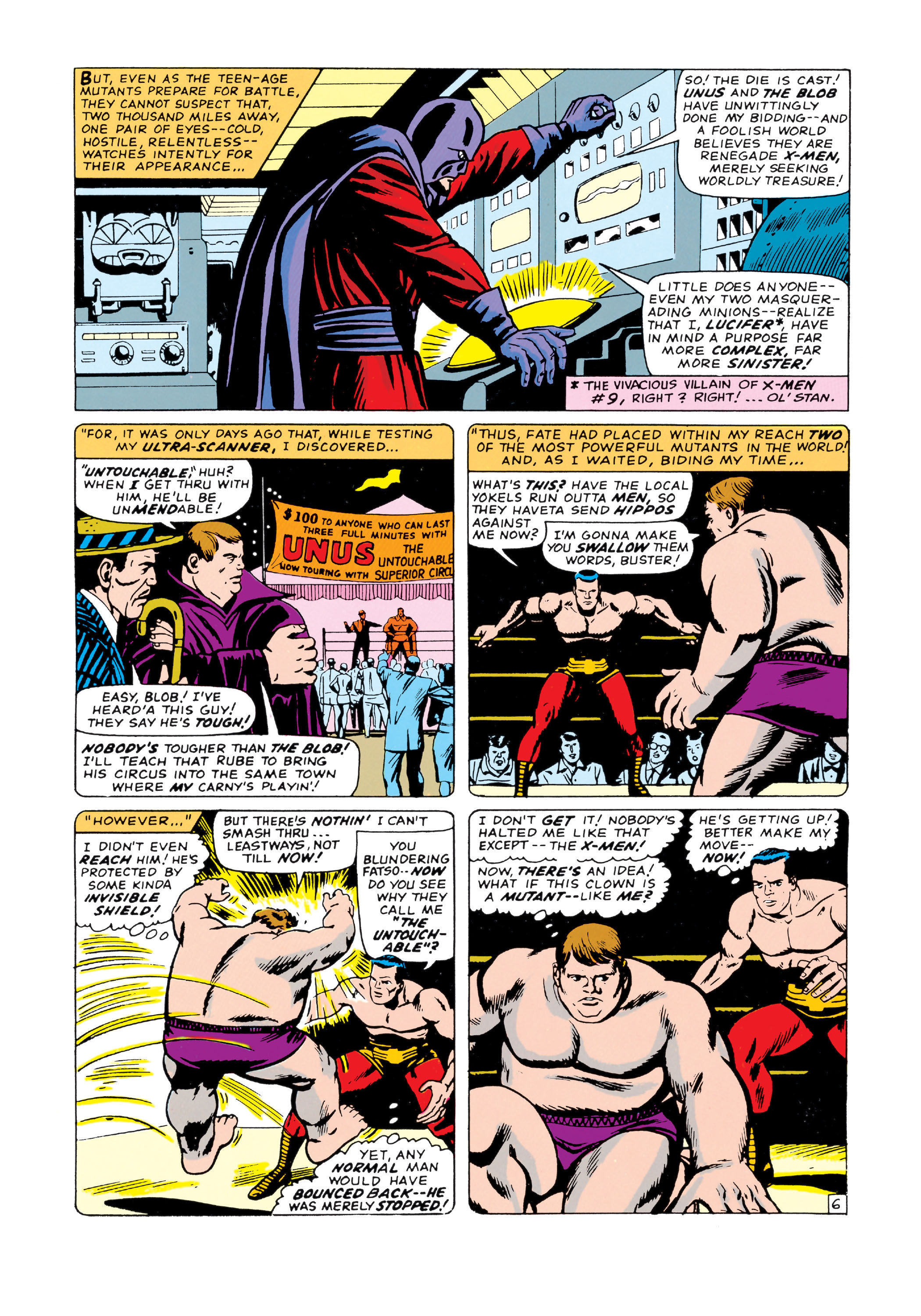 Read online Uncanny X-Men (1963) comic -  Issue #20 - 7