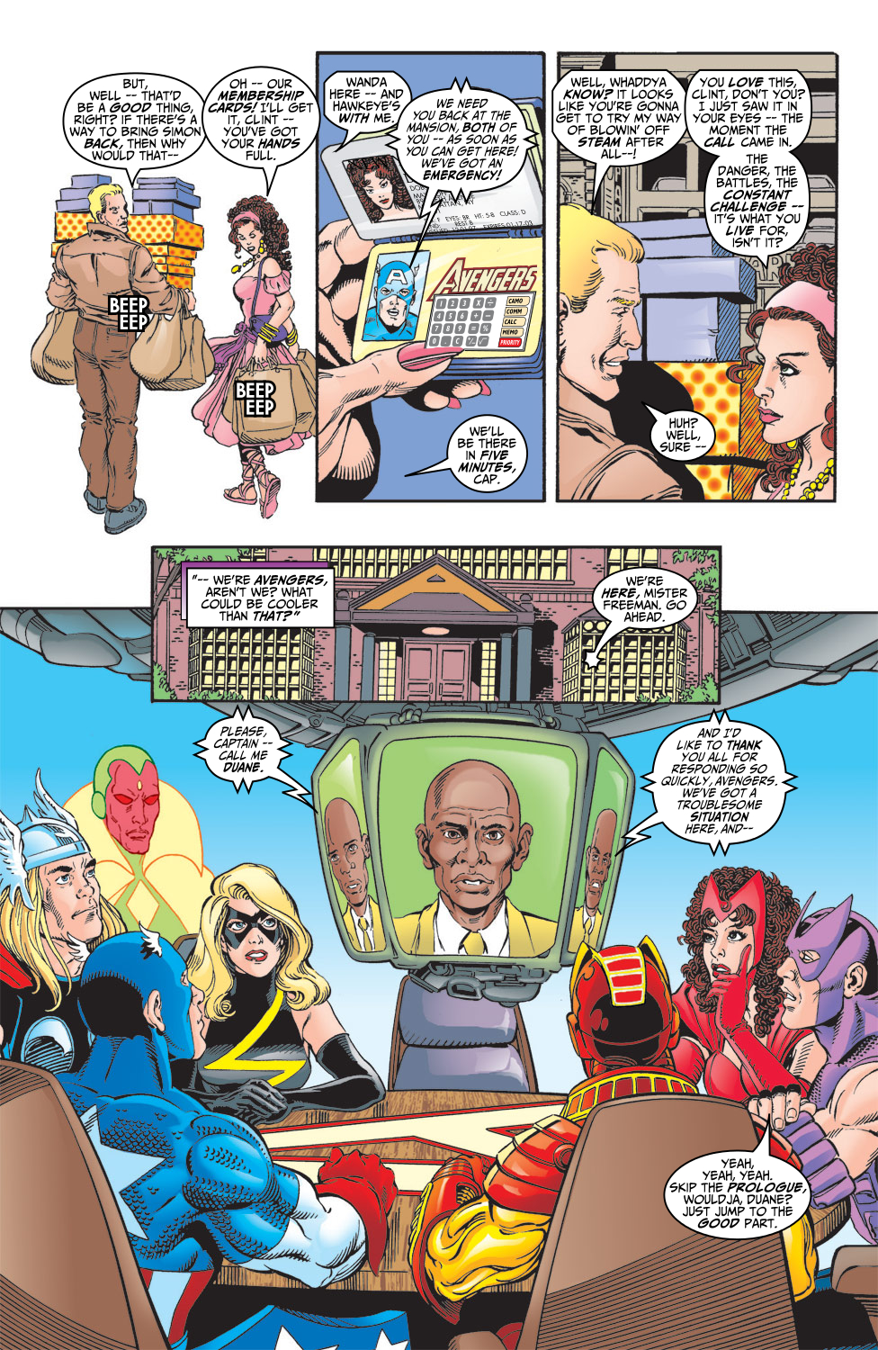 Read online Avengers (1998) comic -  Issue #5 - 7
