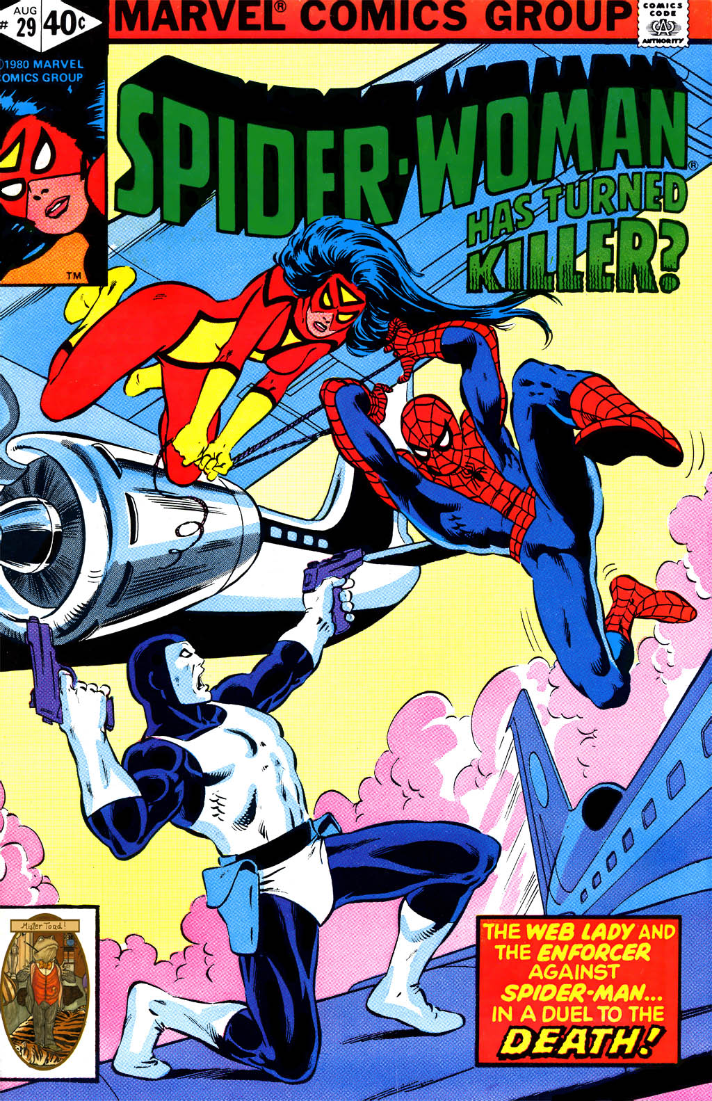 Spider-Woman (1978) issue 29 - Page 1