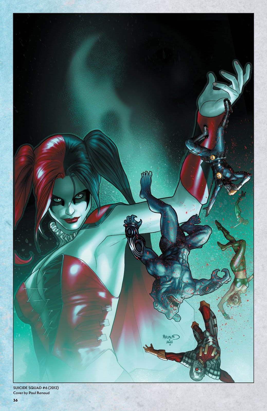 Read online Harley Quinn: A Rogue's Gallery―The Deluxe Cover Art Collection comic -  Issue # TPB (Part 1) - 35