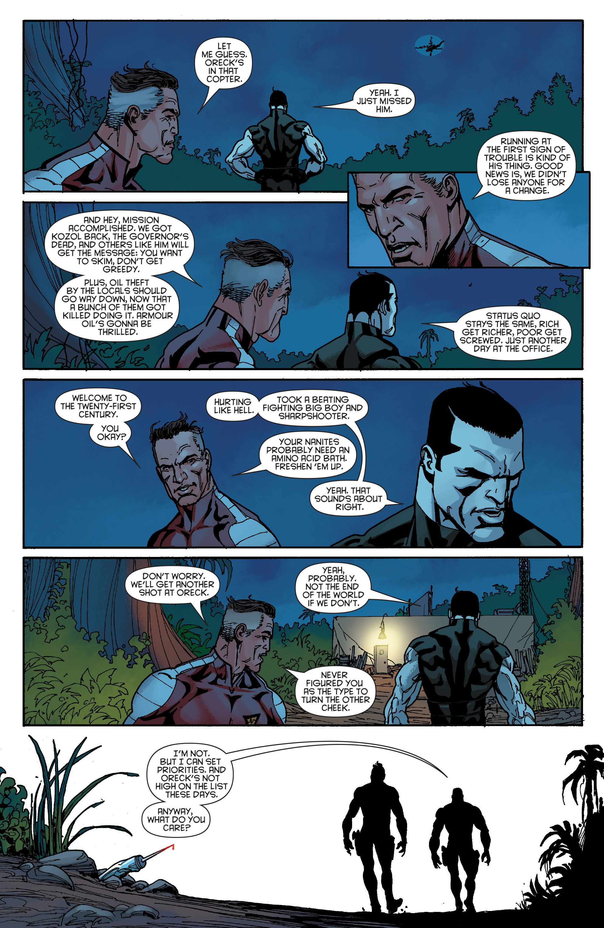 Read online Bloodshot and H.A.R.D.Corps comic -  Issue #19 - 22