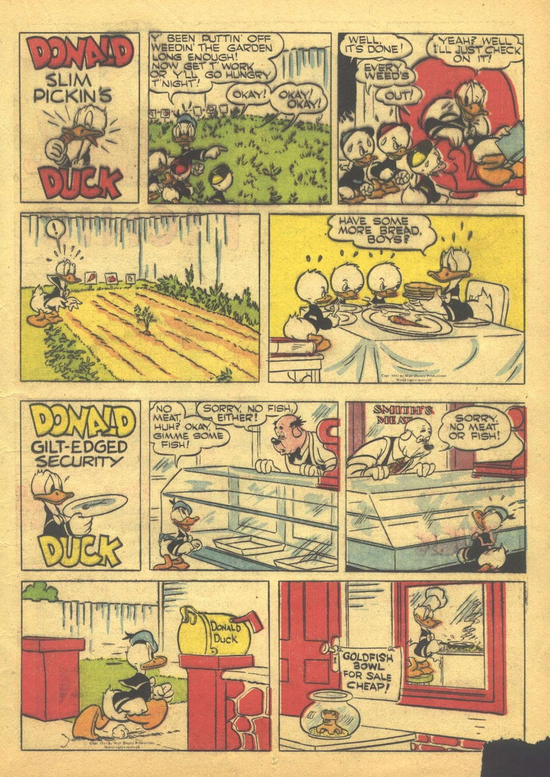 Walt Disney's Comics and Stories issue 41 - Page 25