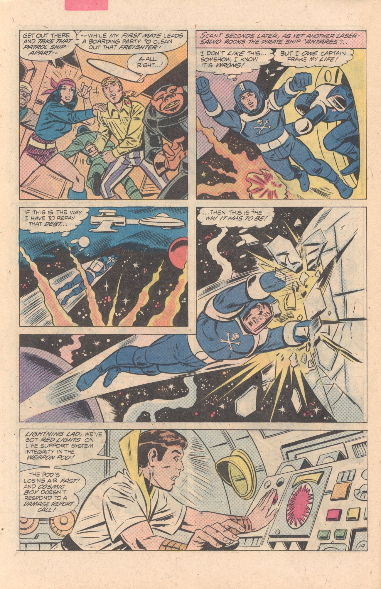 Legion of Super-Heroes (1980) 274 Page 19