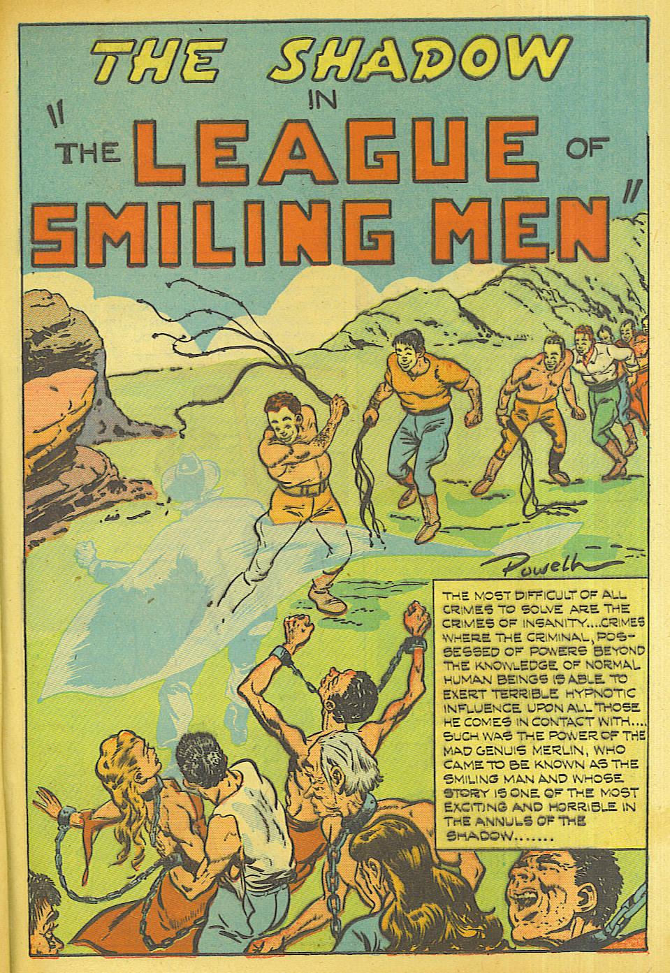 Read online Shadow Comics comic -  Issue #87 - 32