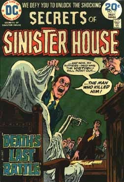 Secrets of Sinister House (1972) 17 Page 1