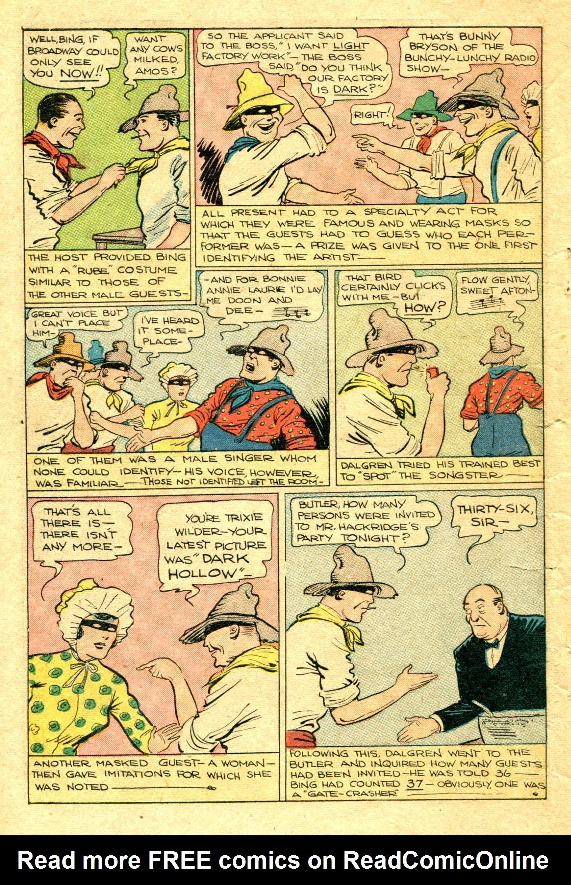 Read online Shadow Comics comic -  Issue #75 - 45