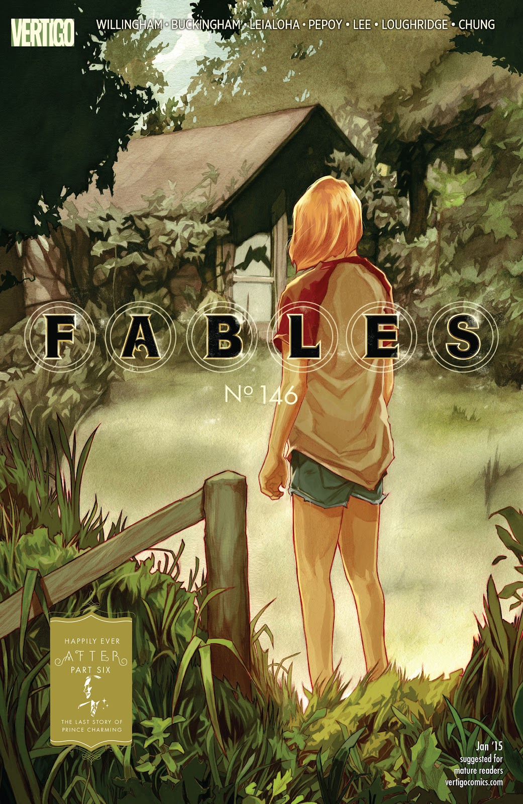 Fables issue 146 - Page 1