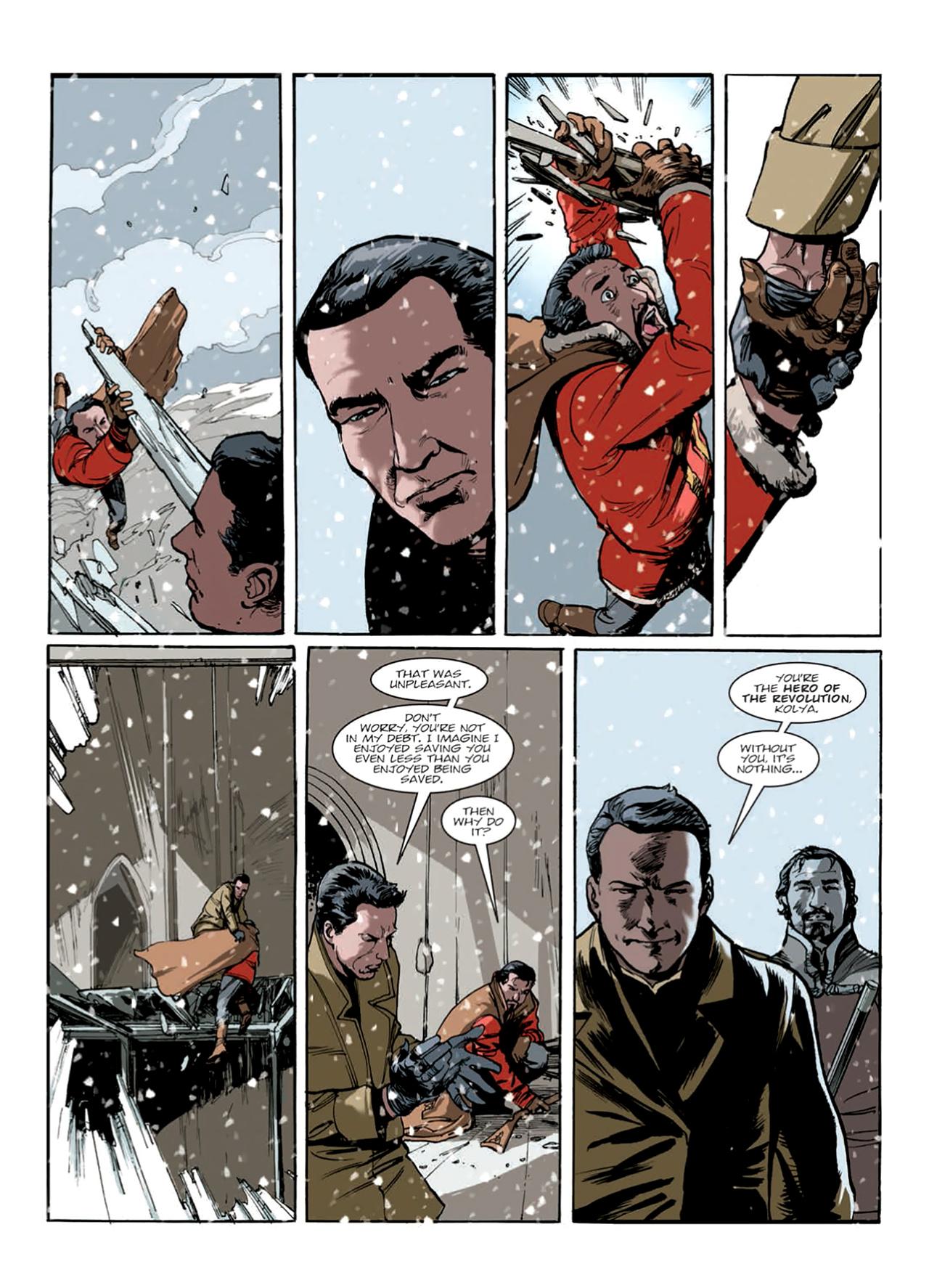 Read online Nikolai Dante comic -  Issue # TPB 9 - 156