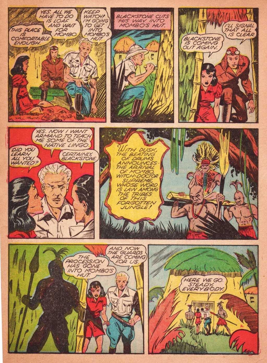 Read online Super-Magician Comics comic -  Issue #2 - 10