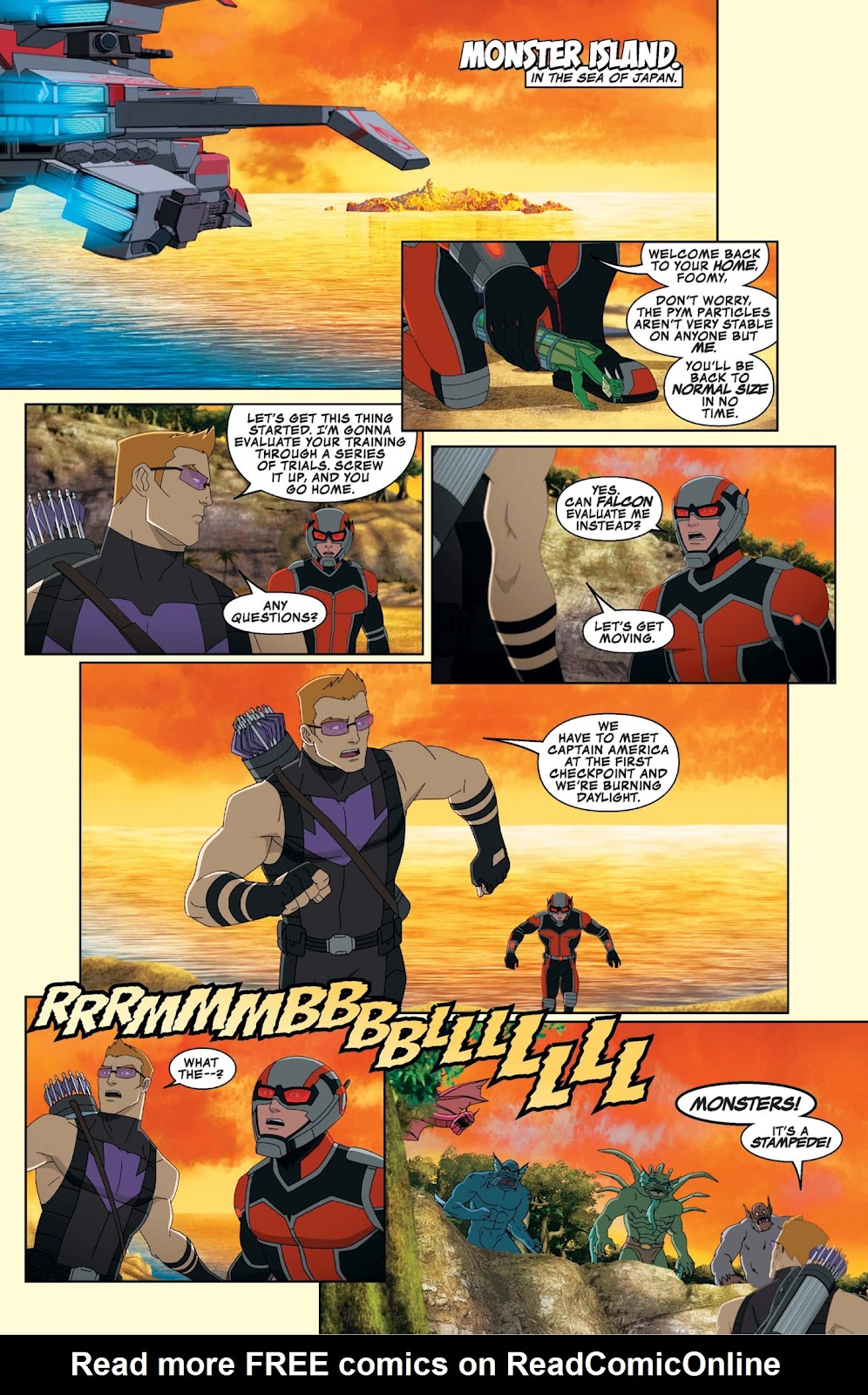 Read online Marvel Universe Avengers Assemble Season 2 comic -  Issue #9 - 10