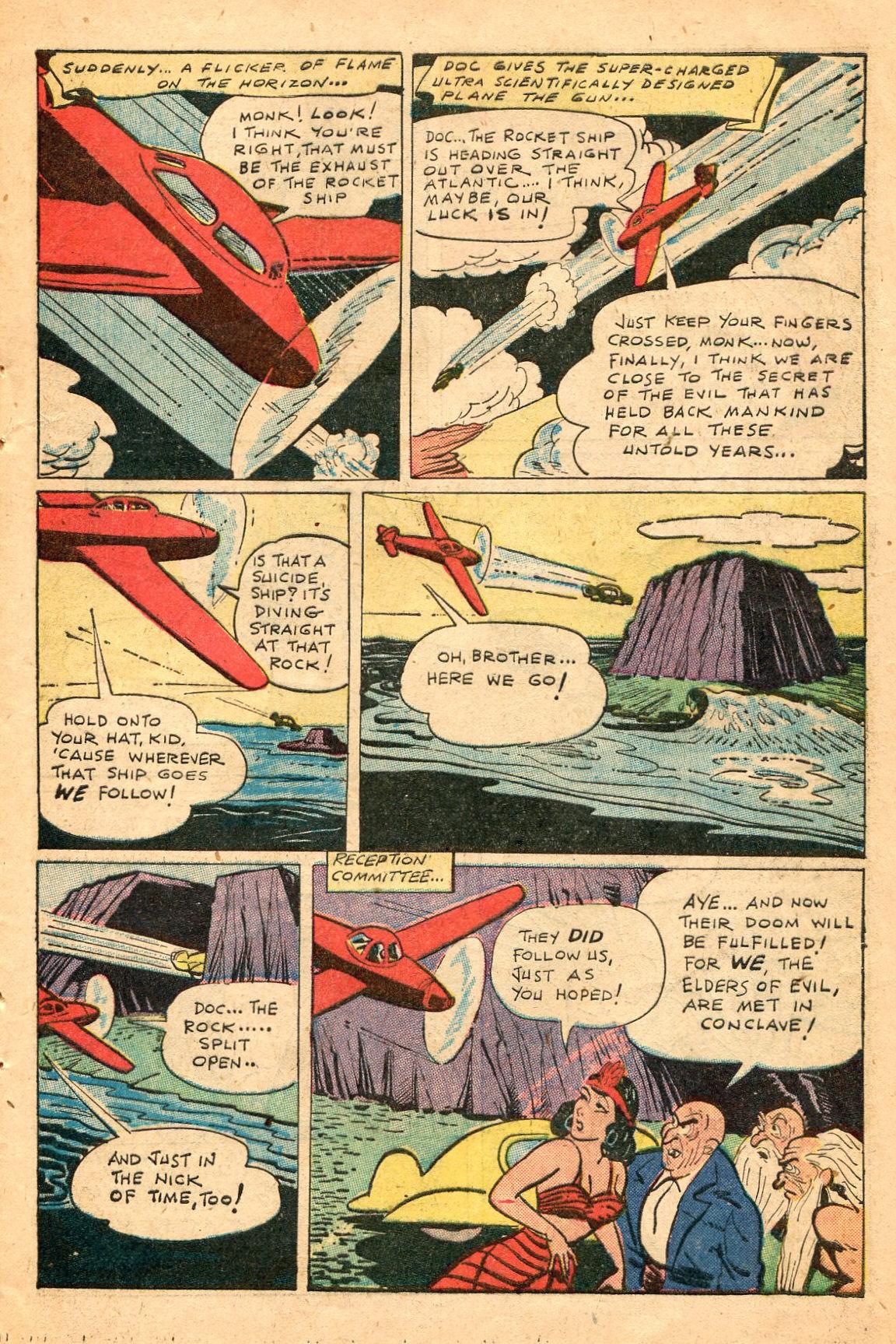 Read online Shadow Comics comic -  Issue #60 - 41