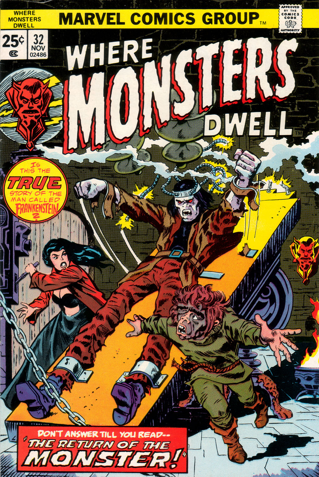 Where Monsters Dwell (1970) issue 32 - Page 1