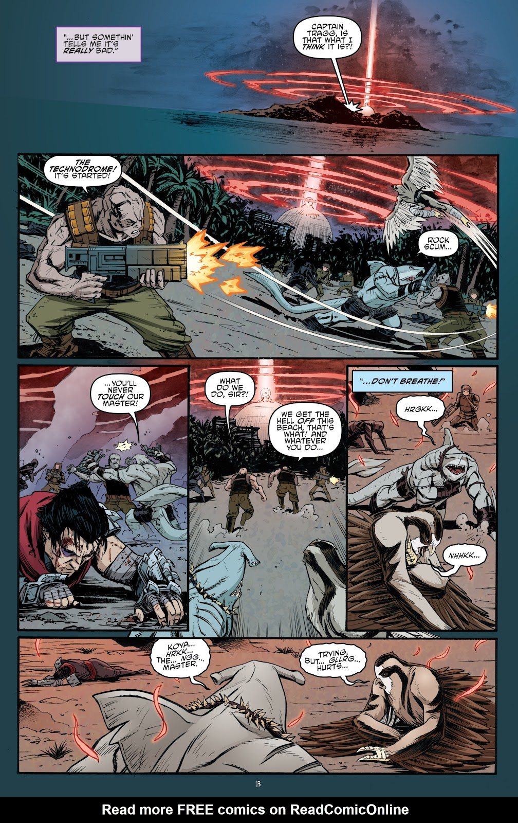 Read online Teenage Mutant Ninja Turtles: The IDW Collection comic -  Issue # TPB 5 (Part 4) - 45