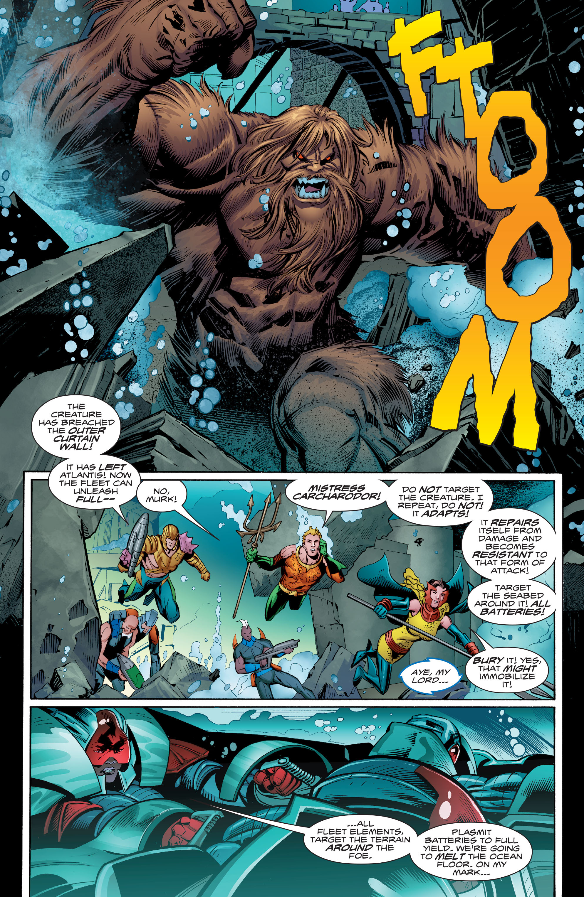 Read online Aquaman (2016) comic -  Issue #9 - 4