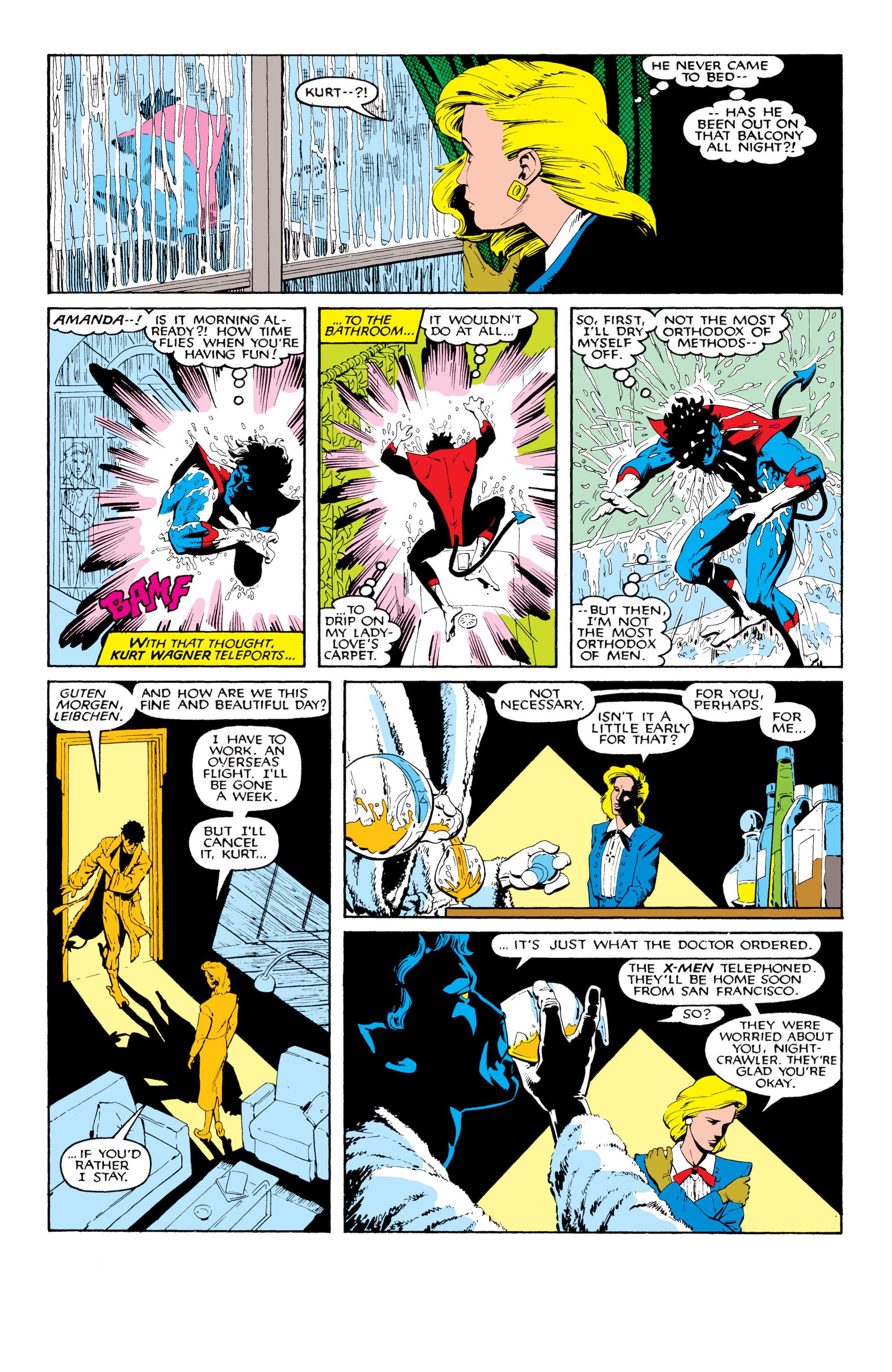 Read online Uncanny X-Men (1963) comic -  Issue #204 - 3