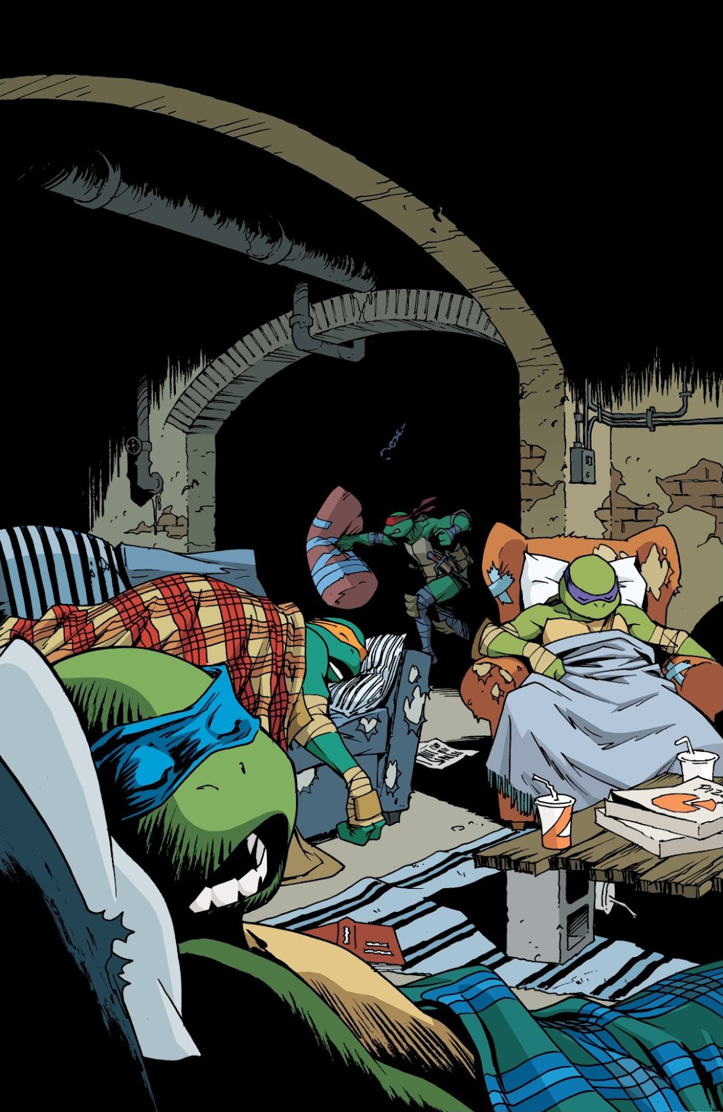 Read online Teenage Mutant Ninja Turtles: The IDW Collection comic -  Issue # TPB 8 (Part 3) - 1