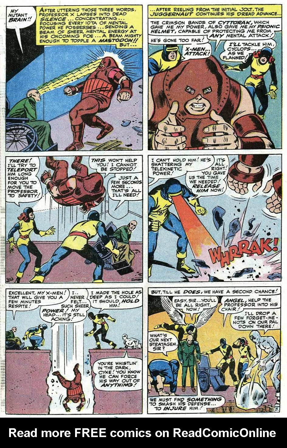 Read online Uncanny X-Men (1963) comic -  Issue #67 - 29