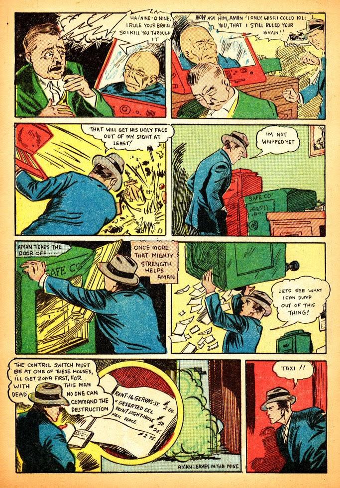 Read online Amazing Man Comics comic -  Issue #12 - 14