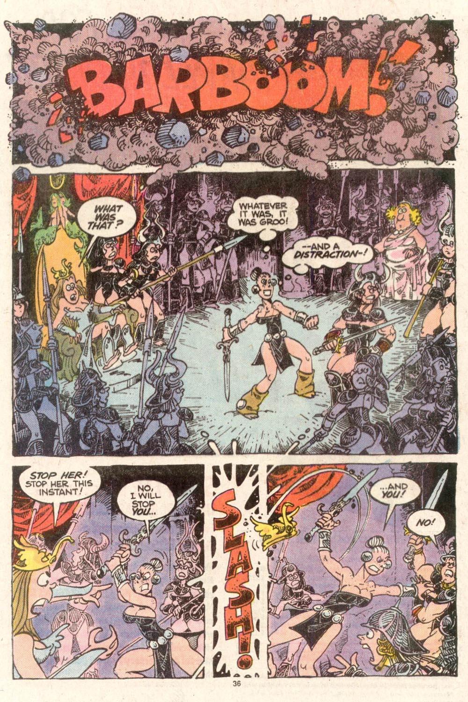 Read online Sergio Aragonés Groo the Wanderer comic -  Issue #50 - 37