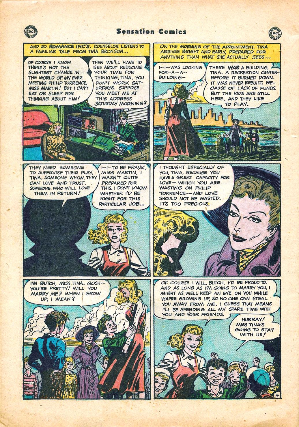 Read online Sensation (Mystery) Comics comic -  Issue #95 - 40