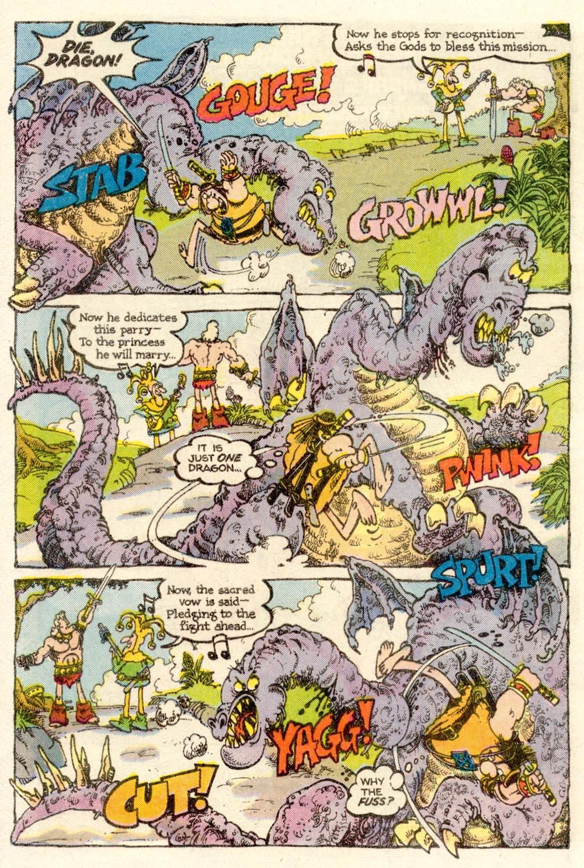 Read online Sergio Aragonés Groo the Wanderer comic -  Issue #10 - 14