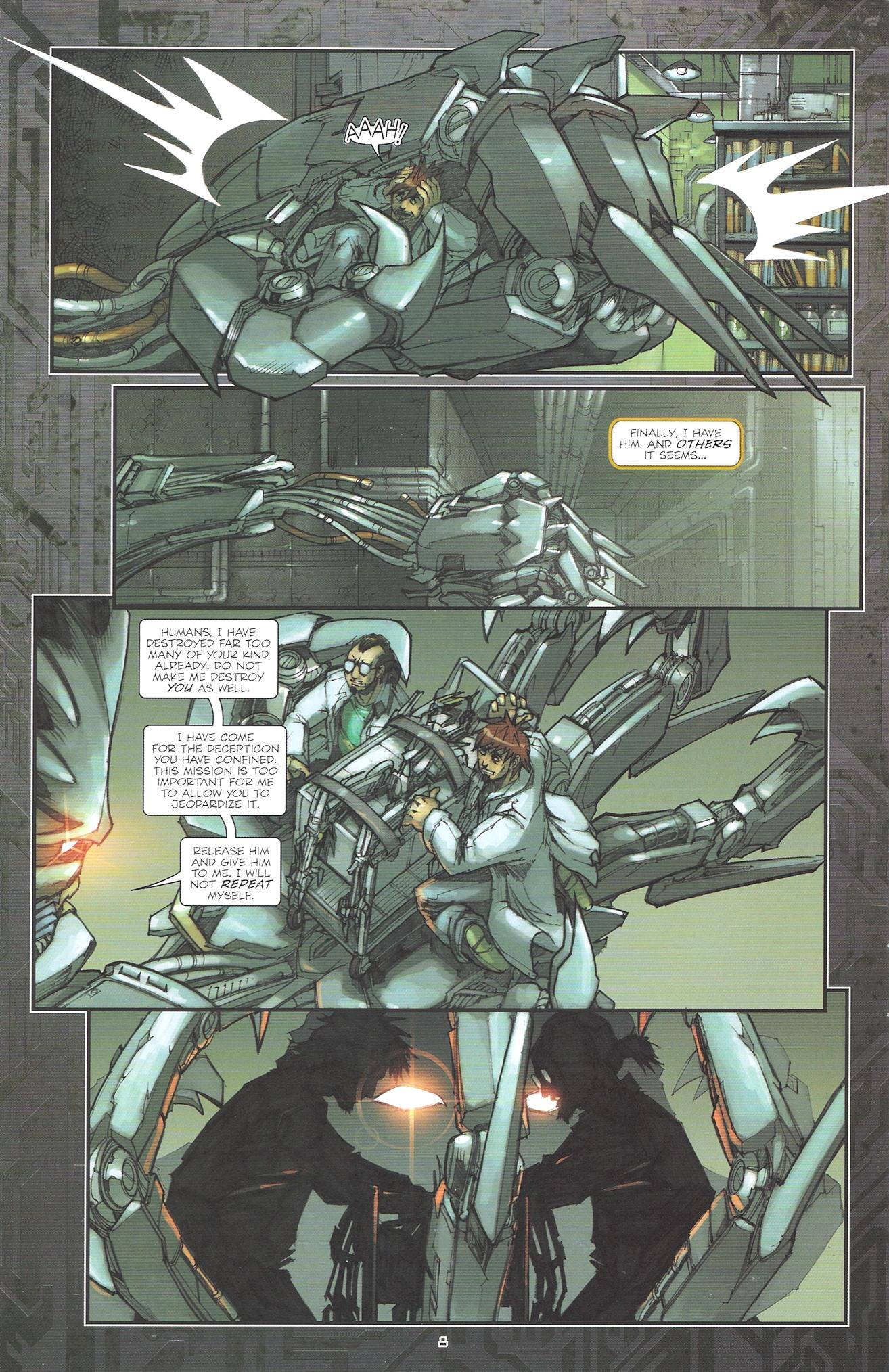 Read online Transformers: The Reign of Starscream comic -  Issue #2 - 10
