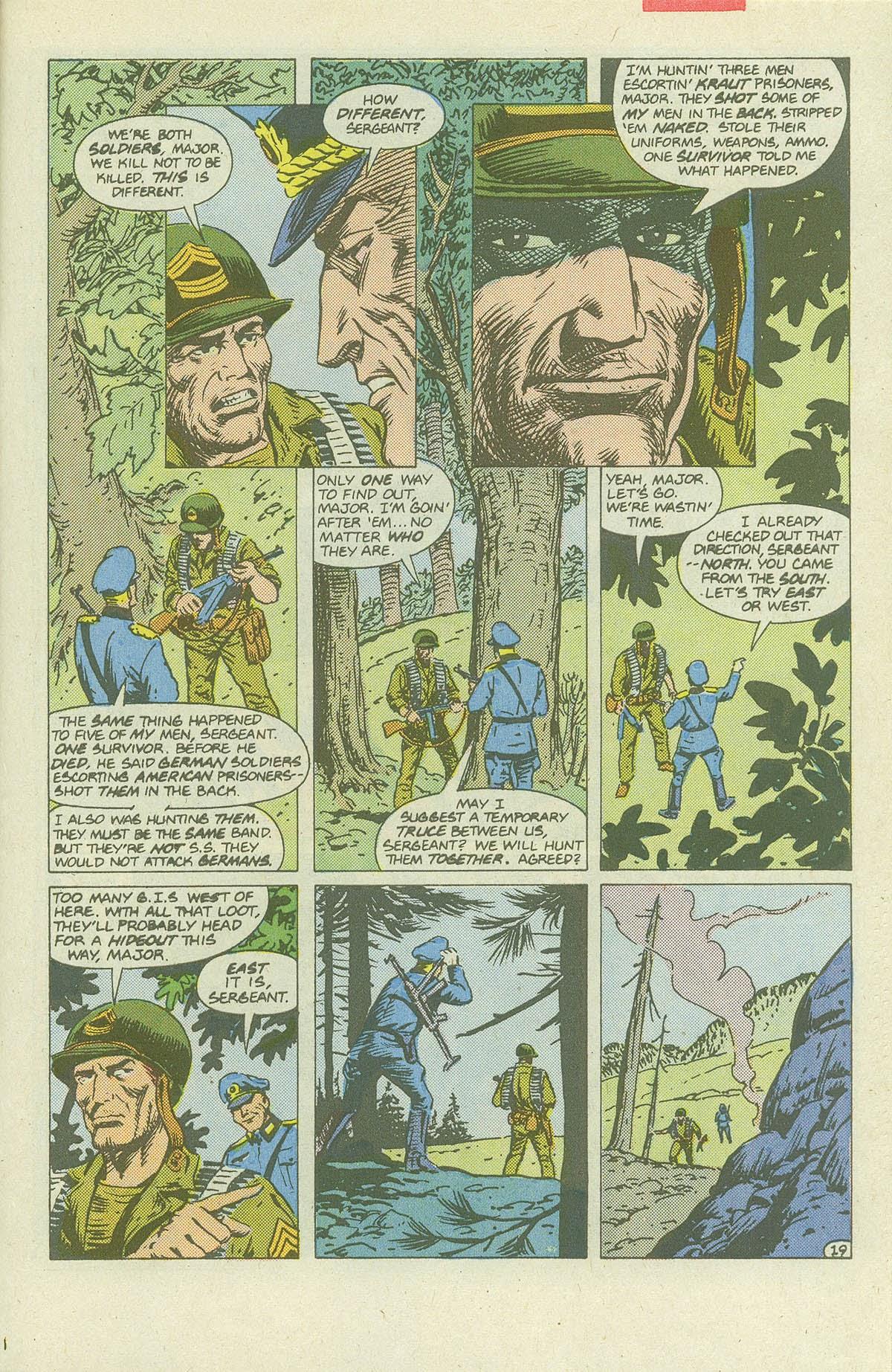 Read online Sgt. Rock comic -  Issue #420 - 26