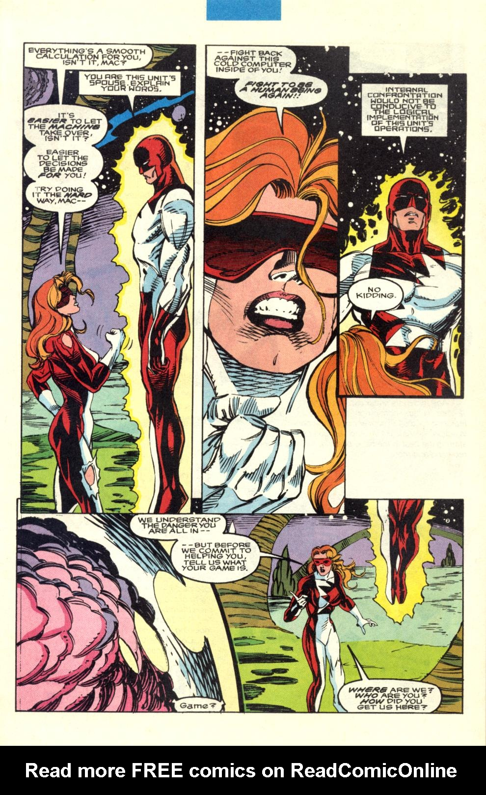 Read online Alpha Flight (1983) comic -  Issue #100 - 8